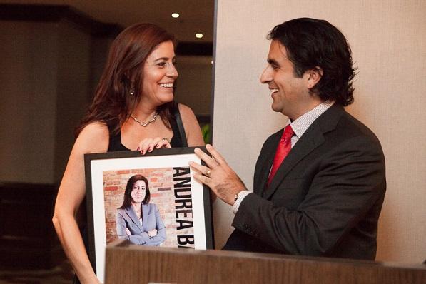 Honoring Top 10 Líder Andrea Bazan, SVP Resource Development, United Way of Metropolitan Chicago
