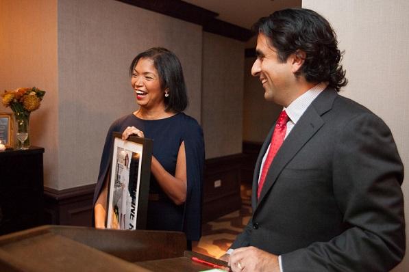 Honoring Top 10 Líder Jacqueline Rosa, Managing Director Global Supplier Diversity, JP Morgan Chase
