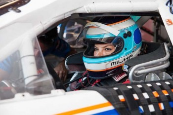 Milka Duno didn't discover motorsports until she was 26. As a recent Porsche owner, a friend had invited her to participate in a Porsche Driving Clinic in Venezuela, where she got her first taste of high-speed driving.