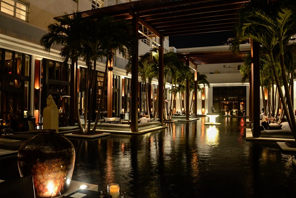 The Setai Hotel, Miami Beach Courtyard