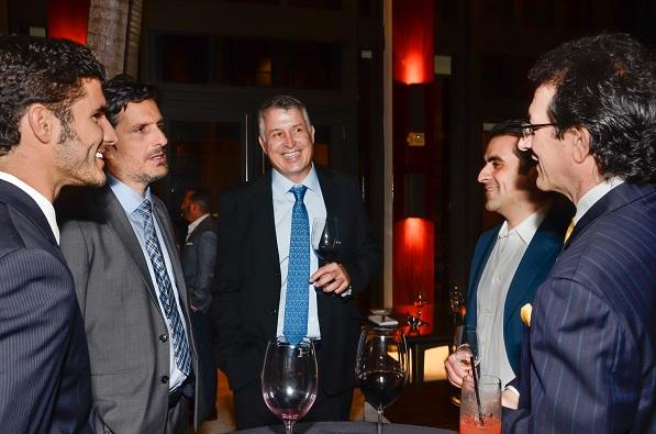 L to R: Iñigo Abaroa; Enrique López; Juan Manuel Echeverri; Pedro A. Guerrero; Gabriel Abaroa, Jr.