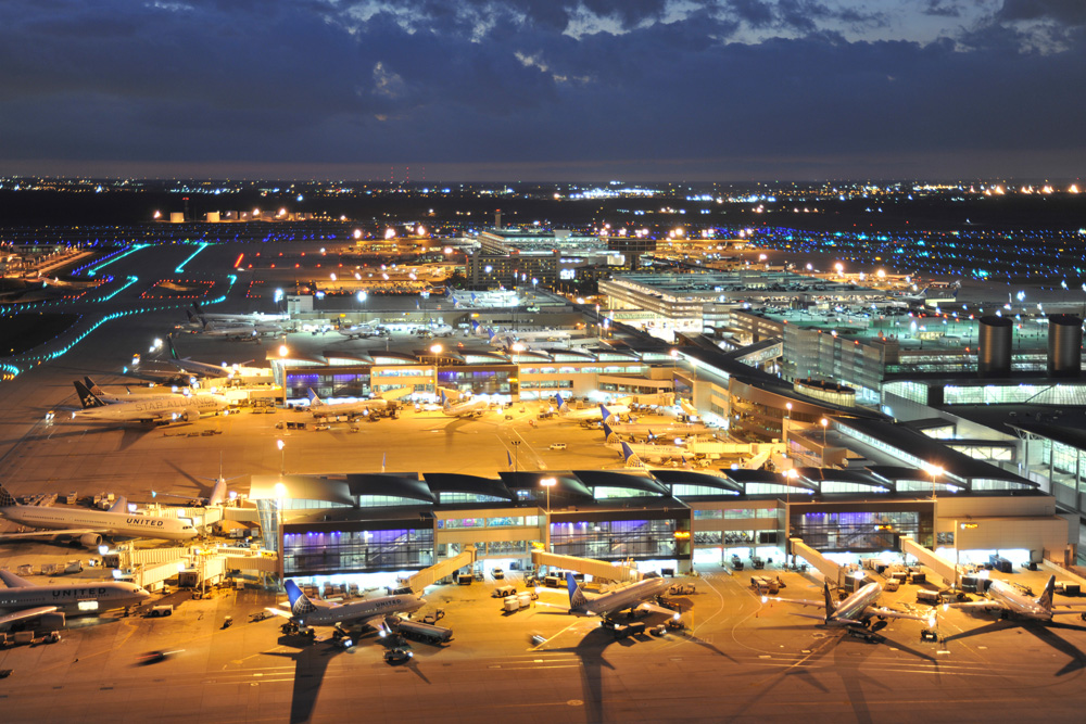 George Bush Intercontinental Airport celebrates its 45th birthday in 2014.