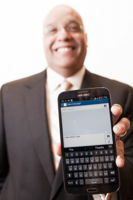Prepaid wireless service, MetroPCS, relies on Chris Luna to make the tough legal calls.