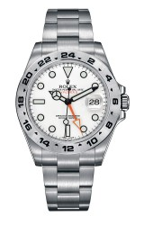 The Rolex Explorer II, which Alvarez advertised in Florida in 1994.
