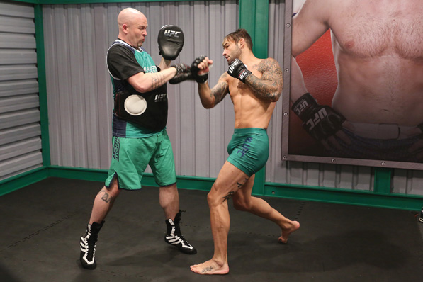"""Guilherme """"Bomba"""" Vasconcelos was one of the middleweight fighters of the the Ultimate Fighter Brazil 3, the Brazilian version of the American series introduced to the market by Pollack."""