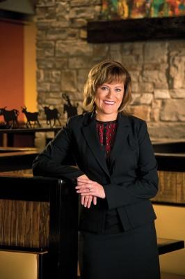 Valerie Insignares, president of LongHorn Steakhouse