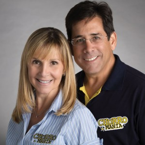 Ariel Acosta-Rubio and his wife, María Alejandra Bravo, opened the doors of the first Churromania in 1997 in Puerto La Cruz, Venezuela.
