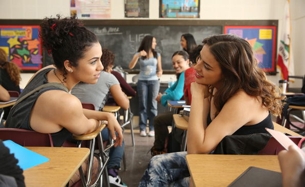 East Los High is one of the most-watched series exclusively on Hulu, especially among Latino viewers. The show is the channel's first English-language series with an all-Latino cast.