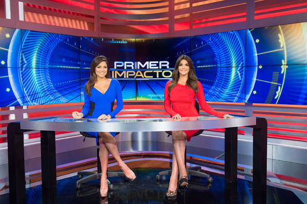 Pamela Silva Conde has coanchored Primer Impacto with Bárbara Bermudo since 2011.
