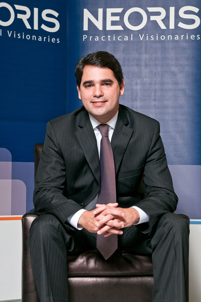 Marcelo Costa, Chief Marketing Officer, NEORIS. Photo: Karl Thompson