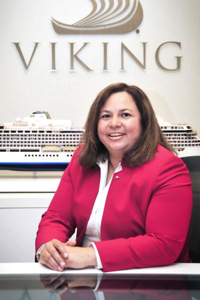 Martha Troncosa, VP of Air Operations, Viking Cruises