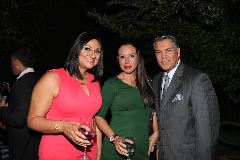 L to R: Luz Jimenez, Multicultural Business Development Manager, H&R Block; Vianey Celestino, Hispanic Marketing Manager, Phoenix Suns; Ruben Alvarez, Managing Partner, Molera Alvarez