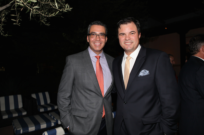 L to R: Gonzalo de la Melena, President, Arizona Hispanic Chamber of Commerce; Jaime Molera, Managing Partner, Molera Alvarez. Photo by: Elaine Kessler