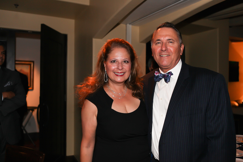 Clarissa Cerda, Chief Legal Strategist, LifeLock with husband Leslie Klein.