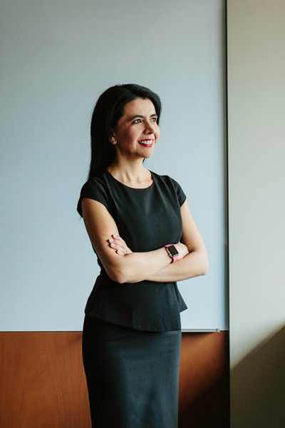 Pilar Cruz, Cargill, portrait standing arms crossed