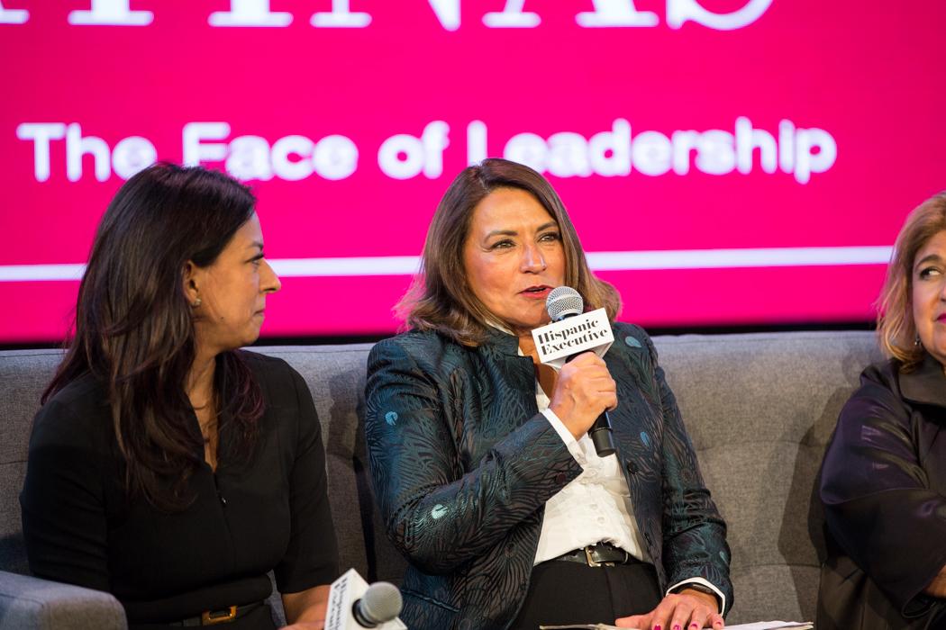 Virginia McGathey Leading Latinas