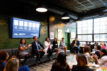 NextGen Collective Chicago event panel discussion