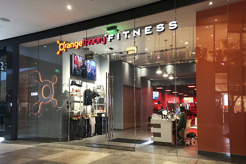 Orangetheory Fitness studio location, front exterior