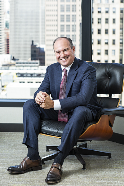 Joe Dominguez, CEO, ComEd, an Exelon company, portrait seated