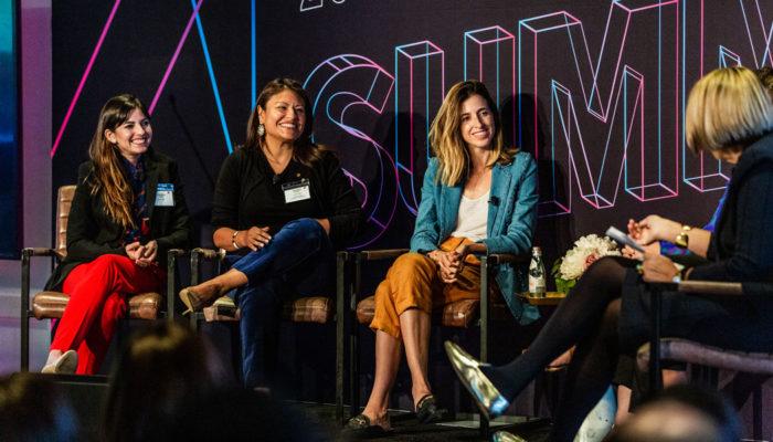 Latina Entrepreneurs Panel at The Alumni Society's 2019 Summit