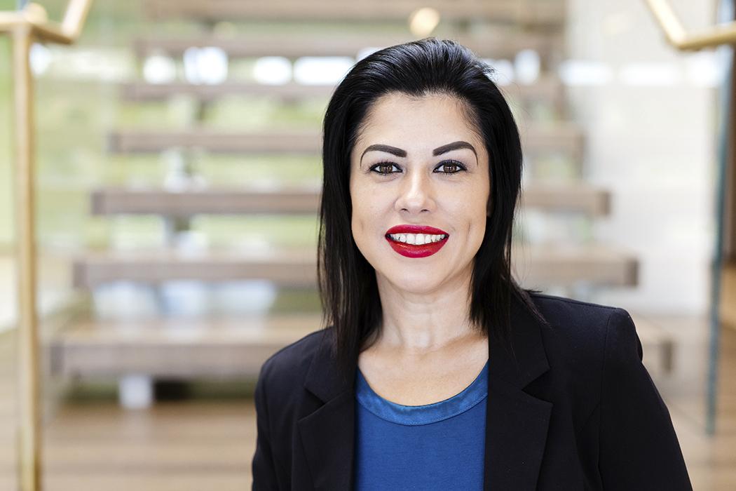 Amanda Lopez, VP, Consumer Finance Manager, Cambridge Savings Bank, portrait banner