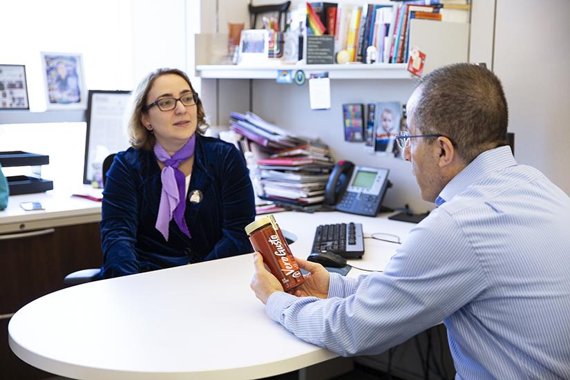 Talita Ramos Ericksonmeeting with Maroun Atallah at Barilla America HQ in Northbrook on April 26, 2019