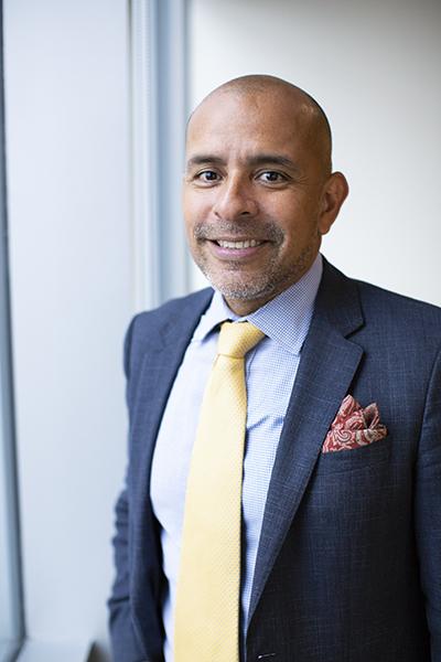 Genaro Perez Jr., CrossCountry Consulting, portrait