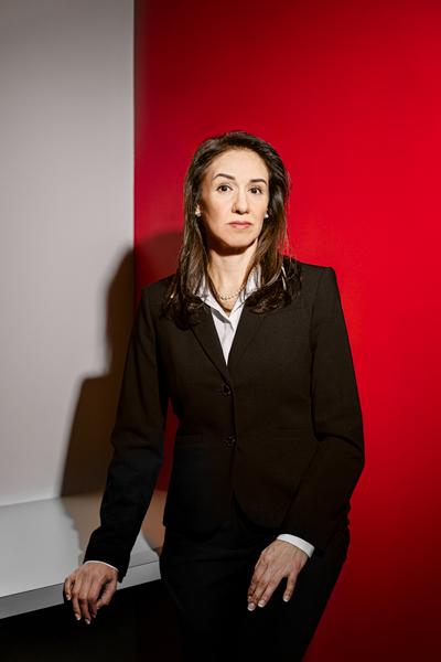 Luz Martinez, Leonardo DRS, portrait standing