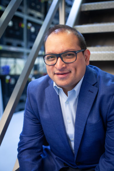 Pablo Peralta, operations executive in the food and beverage industry, portrait