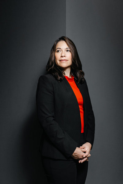 Michelle Boston, Bank of America, portrait standing