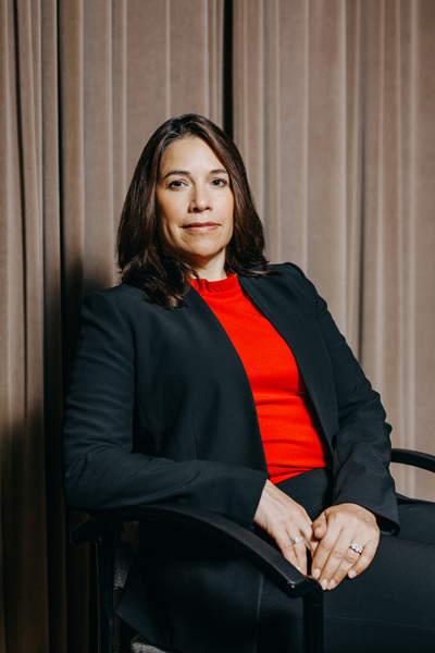 Michelle Boston, Bank of America, portrait sitting