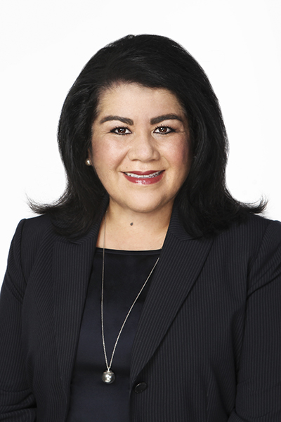 Patty Juarez, Wells Fargo, portrait