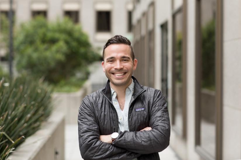 Ariel Francisco Ruiz, Uber, portrait arms crossed