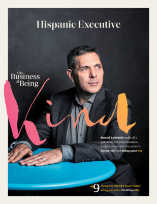 Hispanic Executive Cover_Q1 2020 issue_Daniel Lubetzky KIND