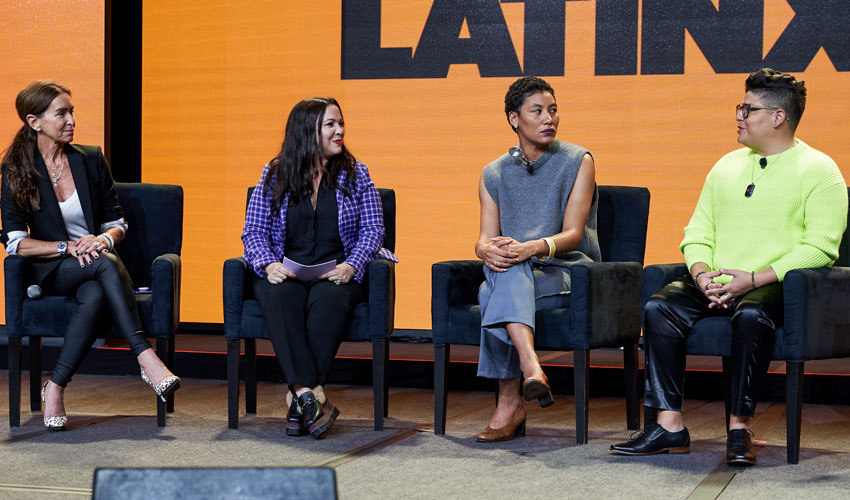 Panel discussion during LATINXT session of L'ATTITUDE