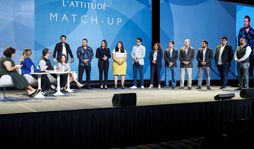 Entrepreneur Match-up session during L'ATTITUDE 2019