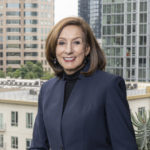 Linda Griego, Board Member, ViacomCBS and American Funds, portrait overlooking city-thumbnail