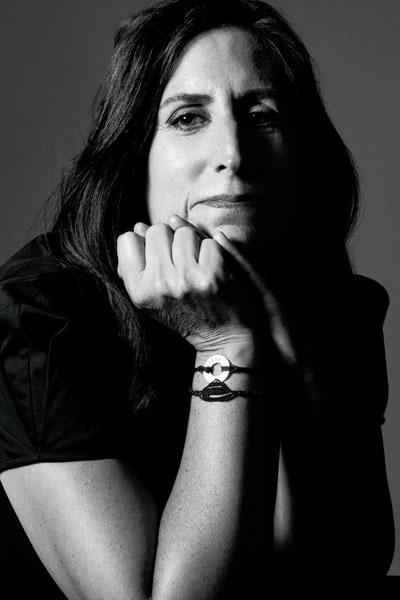 Nonny de la Peña, bw portrait