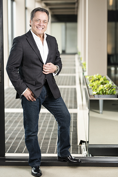 Carlos Medina, One Technologies, portrait standing