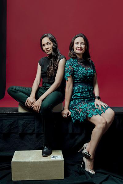 María Teresa Kumar, Rosario Dawson, Voto-Latino
