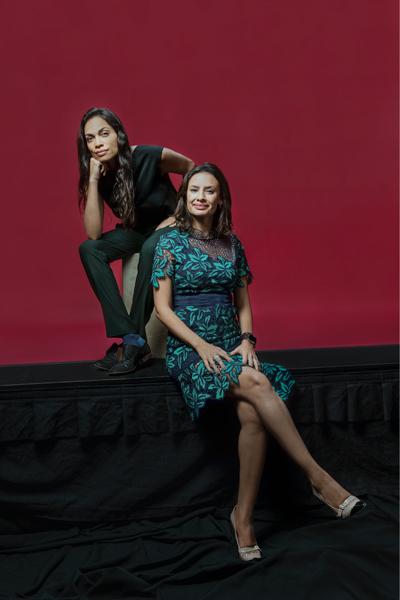 Rosario Dawson and María Teresa Kumar, Voto Latino