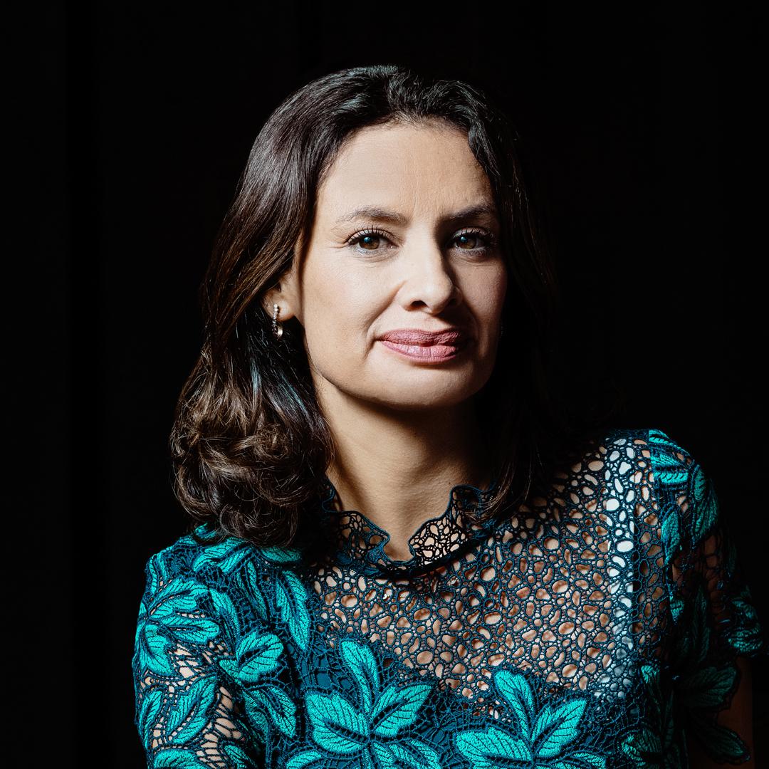 María Teresa Kumar, founding president and CEO, Voto Latino, portrait thumbnail