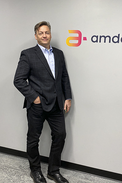 Pablo Cella, Amdocs, portrait standing