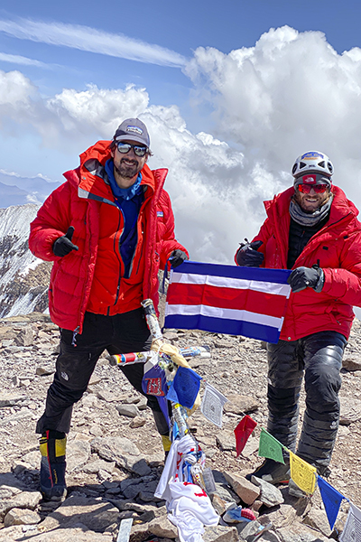 Daniel Perez Kilimanjaro